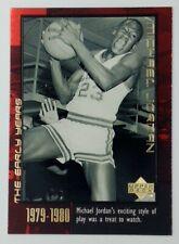 1999 Upper Deck Career Box Set The Early Years Michael Jordan #5, Bulls, HOF