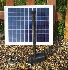 Solar Fountain Koi Pond Pump, will pump 210 Gallons Per Hour, No Electricity