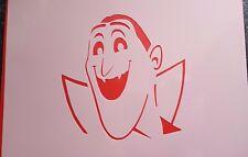 1154 Schablonen Graf Dracula Vintage Stanzschablonen Stencils Tattoos Mylarfolie