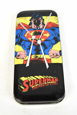 Superman Man Of Steel Acme Animated Quartz Wrist Watch Tin 1993