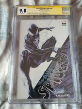Amazing Spiderman 800 SDCC Exclusive Campbell Variant Signed CGC 9.8 Black Suit