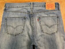 LEVIS 559 RELAXED FIT CLASSIC JEANS HAND MEASURED 36 x 34 Tag 34 x 34 BEST E92u