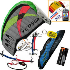 Prism Tensor 3.1 Foil Power Trainer Kite Kiteboarding Traction + Free 2nd Kite