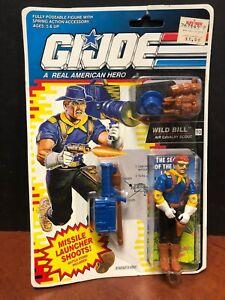 GI Joe Wild Bill minifigure cartoon 80/'s toy figure