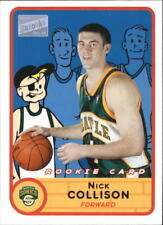 2003-04 Topps Bazooka Joe Nick Collison Rookie Card