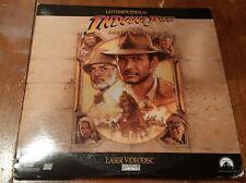 Indiana Jones and the Last Crusade Laserdisc  Rare Letterbox Edition