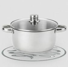 Russell Hobbs 3L Casserole Stew Soup Dish Pan Pot Tureen with Tempered Glass Lid