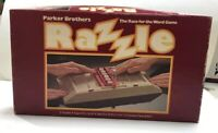 Vintage 1981 Parker Brothers Razzle Board Game Challenging Word Game