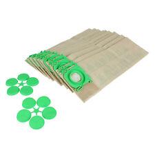 10 Pack of Genuine Sebo 5093ER Upright Vacuum Cleaner Hoover Paper Dust Bags