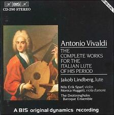 The Complete Works for the Italian Lute of his Period by Lindberg Jakob, Nils-E