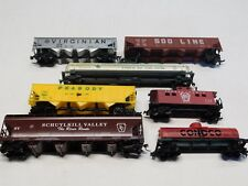 HO Scale - Lot of (7) Assorted Rolling Stock Train Cars!