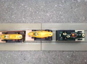 WRENN 152 Formula One Slot Cars- Vanwall- Ferrari, Cooper with boxes