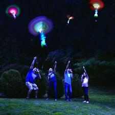 Rocket Copters 20Pc Set Arrow Led Toy Flashing Flying Outdoor Fun Sports Toys