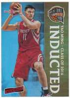 2016-17 Panini Aficionado Basketball Inducted #148 Yao Ming Rockets