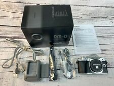 Olympus OM-D E-M10 Mark III Mirrorless Camera Kit Silver Body Only Excellent