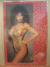vintage Maria Whittaker 1987 Hot girl car garage man cave  Original Poster 4133