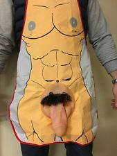 Sexy Male & Female Body Apron with 3D Willy Penis Funny Stag Hen Party Favour