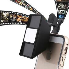 3D Mini Photograph Stereoscopic Camera Lens With Clip For iPhone Samsung Tablet