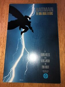 Batman Dark Knight Returns 1 High Grade (Scribble On Cover) 1st Print       A558