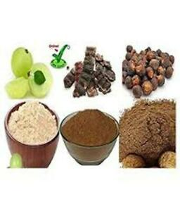 Amla Reetha & Shikakai / Gooseberry / Soapnut / Acacia Dry Powder For Hair Loss