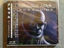 AMORAL - DECROWNING + 1 2006 JAPANESE 1PR SEALED! DEATHCHAIN IN FLAMES THE CROWN
