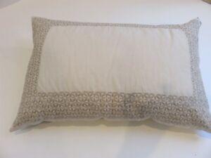 Vera Wang Basketweave Texture rectangle deco pillow NWT $165