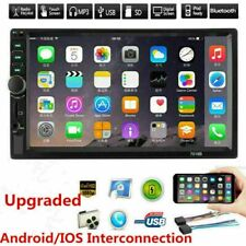 7 Double 7018B 2 DIN Car MP5 FM Stereo MP5 Player Touch Screen Bluetooth Outdoor