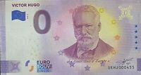 BILLET 0  EURO VICTOR HUGO   FRANCE    2020 NUMERO DIVERS