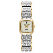 NEW Anne Klein Pretty Women 7583MPTT St. Steel Bracelet Classy MOP Dress Watch