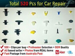520PCS  PLASTIC SCRIVET SCREW CLIPS DOOR BOOT TRIM PANELS BUMPER FITS Alfa Romeo