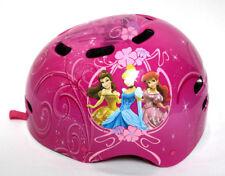 Disney Princess Girls Bicycle Helmet Pink Hard Plastic Adjustable Straps Vented