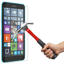 Clear Tempered Glass Screen Protector Film For Microsoft Nokia Lumia 640 LTE CA