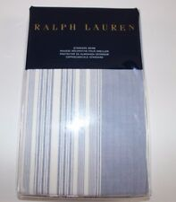 NWT RALPH LAUREN 20x28 Chambray Ivory Stripe 100% Cotton DUNE LANE Standard Sham