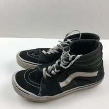Men's Vans Classic Sk8 Black/White Hi Top Lace-up Sneakers Size 7.5 Light Weight