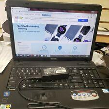 Toshiba Satellite C655-S5082 Windows 7 Intel Celeron (TESTED, READ DESCRIPTION)
