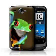 STUFF4 Case/Cover for HTC Wildfire/G8/Wildlife Animals/Frog