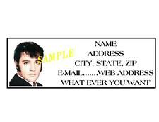 ELVIS PRESLEY  ADDRESS LABELS COOL!!! #3