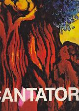 CANTATORE (con autografo di Domemico Cantatore) di Luigi Carluccio - 1977 ARTE