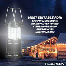 1PC Lantern Portable Collapsible 30 LED Night Lamp Flashlights Torch Outdoor FA1