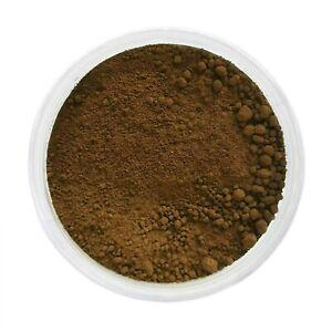Burnt Umber, brownish - Kremer Artist Dry Powder Pigment for Tempera & Oils