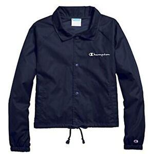 Champion Women's Athletics Heritage Coaches Jacket, Blue, Size XS, $60, NwT