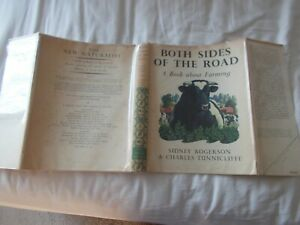 SIDNEY ROGERSON / C F TUNNICLIFFE - BOTH SIDES OF THE ROAD 1951 Dust-jacket