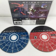 ActiVision Spider-Man PC Game Working Complete 2 Disc Set Activision 2002. T2