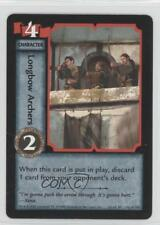 1998 Xena Warrior Princess Collectible Card Game #133 Longbow Archers Gaming 0a1