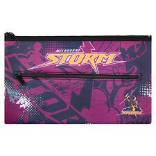 QUALITY LARGE NRL Melbourne Storm Pencil Case for School Work stationary