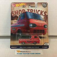 '60s Ford Econoline Pickup * Hot Wheels Car Culture Shop Trucks * HA15
