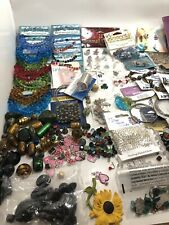 beads lot Pendants Jewelry Making Glass Natural Stone Chez Crystal Over 5000 Pc!