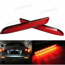 For Lexus IS-F GX470 RX300 RC250 350 Red Lens LED Rear Bumper Brake Light Lamps