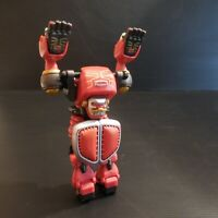Robot transformer figurine personnage homme jouet vintage 2002 BANDAI N4561