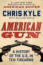 American Gun: A History of the U.S. in Ten Firearms..NEW H/C-10% disc shelfwear